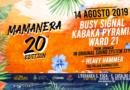 20 edizioni di Mamanera – Ecco la line up del 14 agosto sulla spiaggia di San Foca