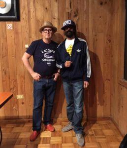 David Rodigan and Damian Junior Gong Marley